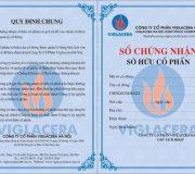 In Phôi Giấy Chứng Nhận – Phôi Chứng Chỉ tại Hà Nội
