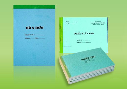 Xưởng In phiếu thu chi giá rẻ tại Hà Nội