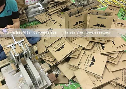 xưởng in túi giấy kraft