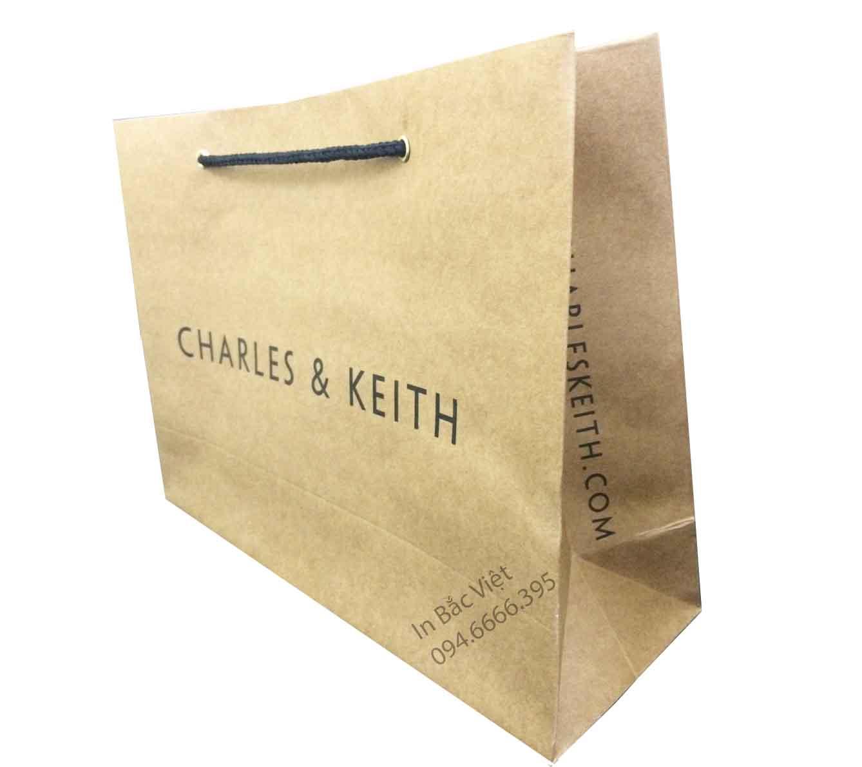 Túi kraft in cho shop thời trang