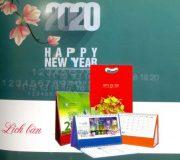 In Lịch Để Bàn 2020 Đẹp Giá Rẻ Theo Yêu Cầu Tại  Hà Nội
