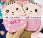 19+ Mẫu Lịch Để Bàn 2020 Dễ Thương Và Cute Nhất