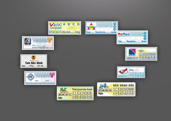 In tem bảo hành giá rẻ và những điều không phải ai cũng biết