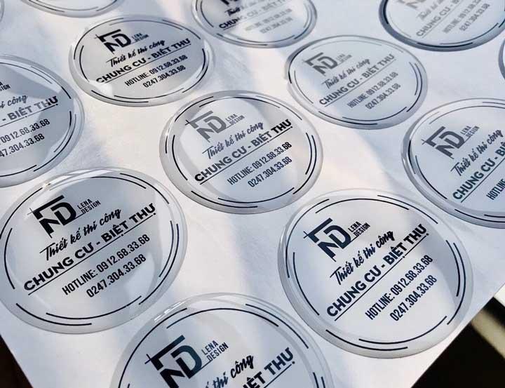 in logo nổi lĩnh vực thiết kế nội thất