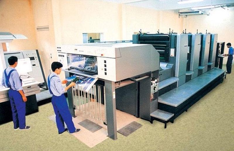 Công nghệ in ofset trên giấy kraft