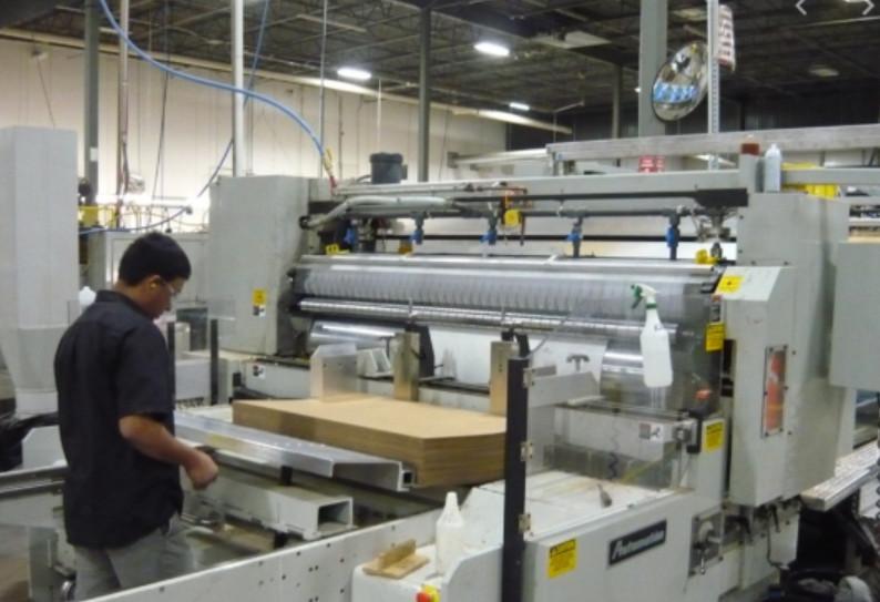 Quy trình in ấn lên giấy xi măng