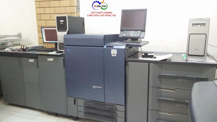 máy in kỹ thuật số phong bì dạng phôi sẵn